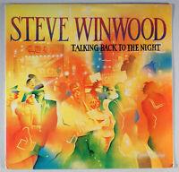 Steve Winwood - Talking Back to the Night (1982) [SEALED] Vinyl LP • Valerie