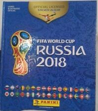 Russia 2018 World Cup Panini Complete Sticker Collection + Hard Cover Albun