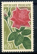 STAMP / TIMBRE FRANCE NEUF LUXE °° N° 1356 ** FLORE / ROSE
