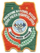 Philippines National Police PNP Bohol Provincial Police Office 4 x 3inches