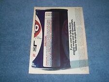 """1976 STP Oil Treatment Vintage Ad """"If You Want To Help Reduce Engine Wear..."""""""