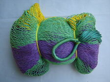 MAYAN HAMMOCK  2 Meters Wide - MULTICOLORED WOVEN - Holds 300Lbs+ FREE ROPES*#GF