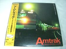 AMTRAK Across The USA From LA TO NY Japan Laser Disc
