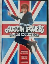 Austin Powers: 3 Film Collection Dvd Jay Roach(Dir) Mike Myers