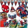 Marvel SPIDERMAN Boys Happy Birthday Party Ware Children Decorations Balloon
