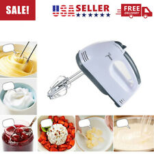 7 Speed Electric Powered Kitchen Handheld Mixer Whisk Egg Beater, Cake & Baking