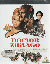 DOCTOR ZHIVAGO - Premium Collection - Blu Ray & Dvd + Artcards..Poster..