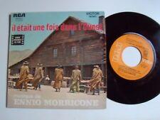 """IL ETAIT UNE FOIS DANS L'OUEST, B.O film / Ennio Morricone 7"""" RCA VICTOR 49.622"""