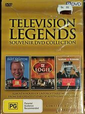 Television Legends - Souvenir DVD Collection (DVD, 2006, 3-Disc Set) NEW SEALED