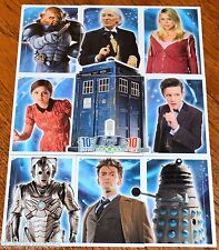 Dr Who ALIEN ATTAX 50th Anniversary Edition 9 Card puzzle Set