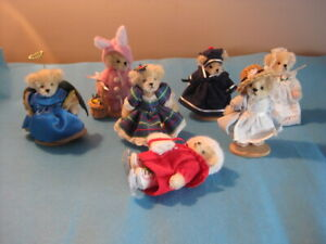 Muffy Vanderbear Miniature Mohair Limited Edition 2003 2004 Bears Lot