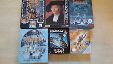 II Amiga Games Spiele Sammlung Commodore 1000 500 Disk OVP BOXED 1 AUSSUCHEN II