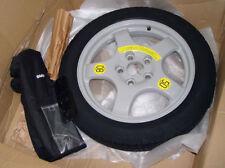 "Genuine BMW Space Saver Spare Tires 18"" + Jack tools case F25 X3 F26 X4 F01 F07"