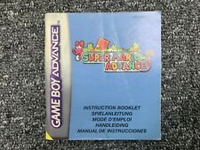 MANUAL ONLY Mario Advance - Game Boy Advance GBA Instructions
