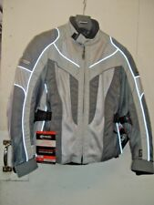 NEW OLYMPIA AIRGLIDE 4 WOMEN'S JACKET # WJ212 S SILVER- SIZE XS