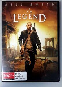 I Am Legend (DVD) Will Smith - GREAT condition (Australian Region 4 PAL)