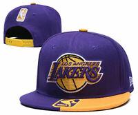 Los Angeles Lakers NBA Basketball Embroidered Hat Snapback Adjustable Cap