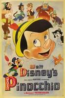 "Pinocchio Movie Poster [Licensed-NEW-USA] 27x40"" Theater Size DISNEY"