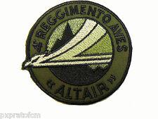 Patch Toppa 4 Reggimento Aves Altair verde