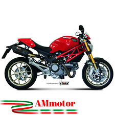 Mivv Ducati Monster 795 2012 12 Escape Moto Silenciador Suono Black