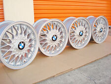 BMW 15 BBS #5 E30 Euro Weaves 4x100 Genuine Factory OEM Wheels 325i 325is 318is
