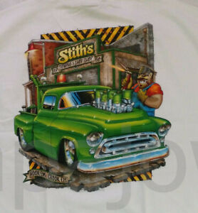 L Custom Towing And Chop Shop Chevrolet Pickuo Chevy Size LARGE.