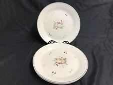 "Royal Doulton ""CORNWALL""  Lambethware ~ Set of 4 ~ Dinner Plates ~ 10 3/8"""