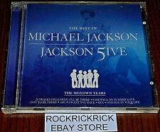 MICHAEL JACKSON / JACKSON FIVE THE BEST OF (THE MOTOWN YEARS) 20 TRACK CD