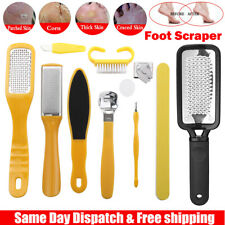Profession Pedicure Kit Rasp Foot File Callus Remover Scraper Nail Care Tool Set