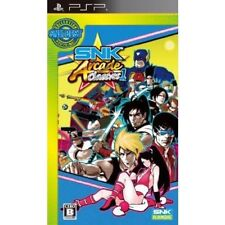Used PSP Neo geo  SNK Arcade Classics Vol. 1 SONY PLAYSTATION JAPAN IMPORT