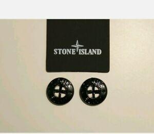 STONE ISLAND x2 Black Buttons *FLASH SALE*