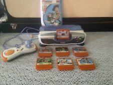 Vtech VSmile Motion w/ Controller & 7 Games Mickey Toy Story 3 Shrek WORKING