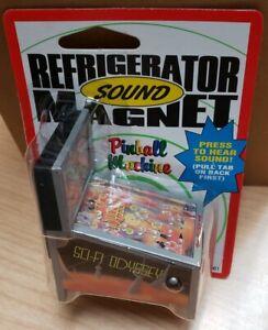 NOS Vintage 1999 ACME Arcade Light Up SCI-FI Odyssey Pinball Refrigerator Magnet