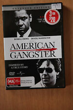American Gangster - Denzel Washington Russell Crowe - Pre Owned VGC (Box D16)