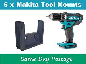 5 X Makita Tool Skin Holder Mount 18v