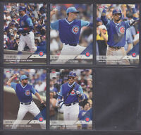 Topps Now - Players Weekend 2018 - Chicago Cubs 5 Card Team Set