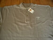 HRC Hard Rock Cafe Athen Athens Polo Shirt Taupe Schilf XXL New Neu NWT