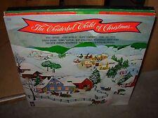 VARIOUS top artists / christmas favorites / wonderful world ( holiday ) 3 LP LOT