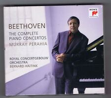 3 CDs (NEW) BEETHOVEN MURRAY PERAHIA COMPLETE PIANO CONCERTOS