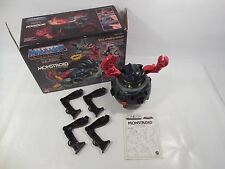 COMPLETE MASTERS OF THE UNIVERSE EVIL HORDE MONSTROID TOY W/BOX MOTU MATTEL 1986