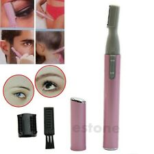 Women Lady Electric Face Eyebrow Hair Body Blade Razor Shaver Remover Trimmer