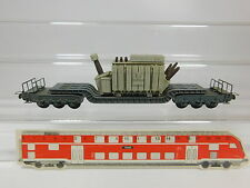 AQ865-0,5# Trix Express H0/DC 497 (?) Heavy duty tracks with Siemens transformer