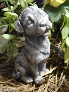 "Latex multi breed dog mold plaster concrete casting mould 4.5"" H x 2""W"