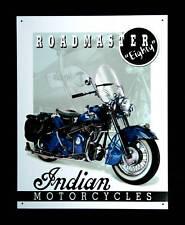 Vintage Indian Motocicleta Póster Moto Bici Cuadro De Época Decoración