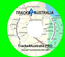 Garmin GPS Map Australia - Tracks4Australia PRO V1.2 (CD version)