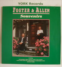 FOSTER & ALLEN - Souvenirs - Excellent Condition LP Record Telstar STAR 2457