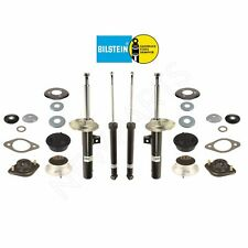 BMW E46 Front & Rear Shocks & Struts & Mounts with Gaskets & Plates & Washers
