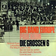 "7"" BIG BAND EUROPE PAUL KUHN ""Die grossen 6"" The Way It Used To Be COLUMBIA 1969"