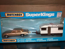 Matchbox Superkingd k-69 & Caravan Camper RV