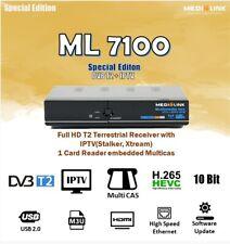 Medialink Decoder ML7100 T2/C HEVC265 Main 10 bit NUOVO STANDARD